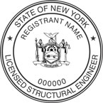 New York Licensed Structural Engineer Seals
