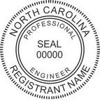 North Carolina Professional Engineer Seals