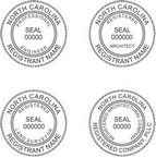 North Carolina Professional Seals