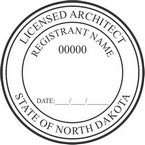North Dakota Licensed Architect Seals