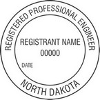 North Dakota Registered Professional Engineer Seals
