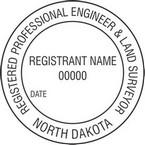 North Dakota Registered Professional Engineer and Land Surveyor Seals