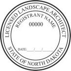 North Dakota Landscape Architect Seals