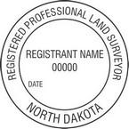 North Dakota Registered Professional Land Surveyor Seals