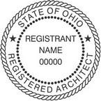 Ohio Registered Architect Seals