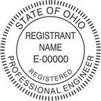 Ohio Registered Professional Engineer Seals