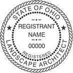 Ohio Registered Landscape Architect Seals