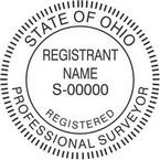 Ohio Registered Professional Surveyor Seals