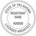 Oklahoma Licensed Architect Seals