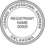 Oklahoma Licensed Professional Engineer Seals