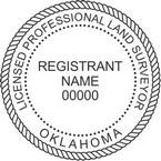 Oklahoma Licensed Professional Land Surveyor Seals