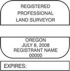 Oregon Registered Professional Land Surveyor Seals