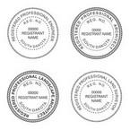 South Dakota Professional Seals