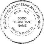 South Dakota Registered Professional Engineer Seals