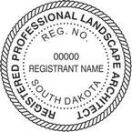 South Dakota Registered Professional Landscape Architect Seals