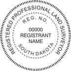 South Dakota Registered Professional Land Surveyor Seals