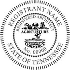 Tennessee Registered Architect Seals