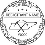 Tennessee Licensed Professional Geologist Seals