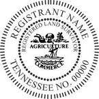 Tennessee Registered Land Surveyor Seals