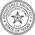 Texas Registered Architect Seals
