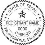Texas Licensed Professional Engineer Seals
