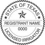 Texas Licensed Irrigator Seals