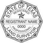 Texas Professional Land Surveyor Seals