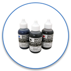 Order Now! 1oz. Stamp Refill Ink for water based, self-inking stamps. Free Shipping! No Sales Tax - Ever!