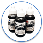 Two Ounce Bottle of Oil-Based Stamp Ink. For use with iStamp or 2000 Plus HD pre-inked stamps. Lasts 30,000 impressions. Free Shipping! No Sales Tax - Ever!