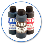 Order Now! Mark II 1250 Ink in 4oz bottle. Dries in 10-15 seconds. Works on various non-absorbent surfaces. Available in Black, Blue, and Red. Free Shipping! No Sales Tax - Ever!