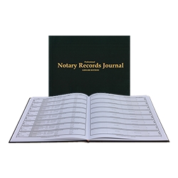 Hard Bound Journal of Notarial Acts shipped daily online. Free same day shipping. Excellent customer service. No sales tax - ever.