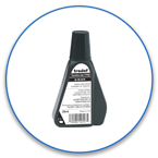 2oz Fabric Ink Refill for clothes marking stamps. Order today with same day shipping. No sales tax - ever!