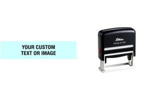 Shiny S-310 self-inking stamps made daily online. Free same day shipping. Excellent customer service. No sales tax - ever.
