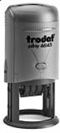 Trodat 46145 round date stamp made daily online. Free same day shipping. No sales tax - ever.