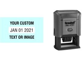 Order Now! Trodat Printy 4729 Date Stamps. Add custom text or artwork around the adjustable date. Free Shipping. No Sales Tax - Ever!