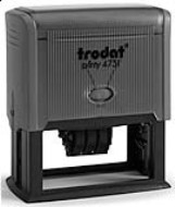 Trodat Print 4731 date stamps made daily oniline. Free same day shipping. Excellent customer service. No sales tax - ever.