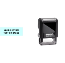 Order Now! Trodat Printy 4910 Rubber Stamp. Add lines of text, upload artwork, or both. Free Shipping. No Sales Tax - Ever!