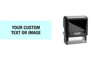 Order Now! Trodat Printy 4913 Rubber Stamp. Add lines of text, upload artwork, or both. Free Shipping. No Sales Tax - Ever!