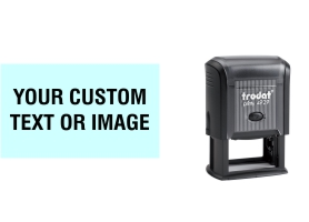Order Now! Trodat Printy 4929 Custom Rubber Stamp. Add lines of text, upload artwork, or both. Free Shipping. No Sales Tax - Ever!