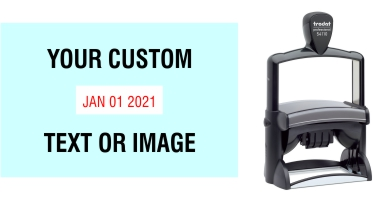 Order Now! Trodat 54110 Date Stamp. Add lines of text or upload artwork to imprint around the date Free Shipping. No Sales Tax - Ever!