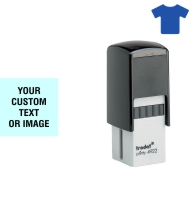 Order Now! Trodat Printy 4922 Fabric Stamp. Add lines of text, upload artwork, or both. Free Shipping. No Sales Tax - Ever!