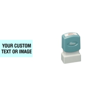 The Xstamper N04 customizable stamp can be used with those smaller spaces many documents have, perfect for a short message. No sales tax - ever.