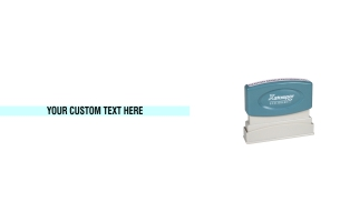 The Xstamper N05 is the perfect stamp for one line of custom text, like your website address, company name, or short message. Free Shipping. No sales tax - ever.