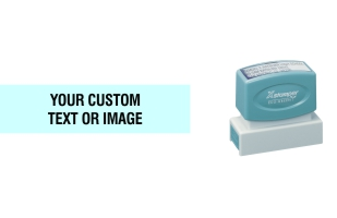 The Xstamper N14 custom stamp is popular for return addresses, signatures, and notary stamps. Free Shipping. No sales tax - ever.