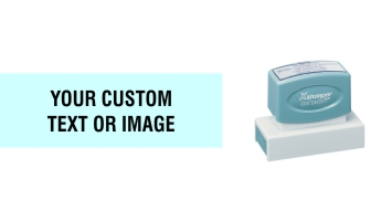 The Xstamper N18 custom stamp is a great addition to your office, with any message or image you want. Free Shipping. No sales tax - ever.