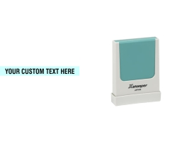The Xstamper N37 custom stamp works great, whether it is your company name or website address you need to mark. Free Shipping. No sales tax - ever.