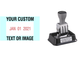 Xstamper N90 date stamps made daily online. Free same day shipping. Excellent customer service. No sales tax - ever.
